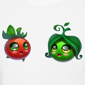 Tomato and peas - Women's T-Shirt