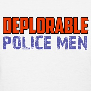POLICE_MEN DESIGN - Women's T-Shirt