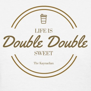 Life is Double Double Flag - Women's T-Shirt