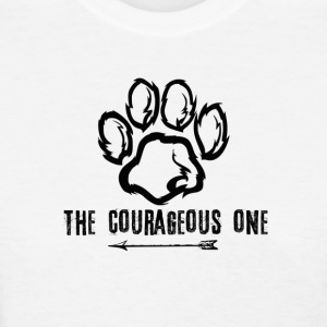 Bear: The Courageous One (Black) - Women's T-Shirt