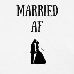 married af happily married - Women's T-Shirt