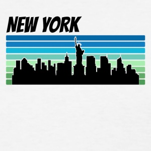 Retro New York Skyline - Women's T-Shirt