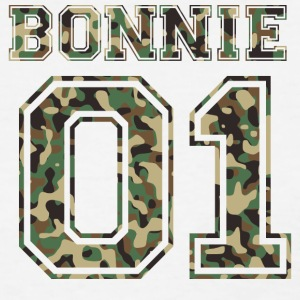 Bonnie_01_camo_2 - Women's T-Shirt