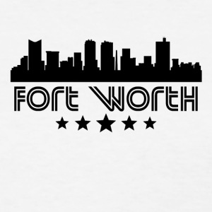 Retro Fort Worth Skyline - Women's T-Shirt