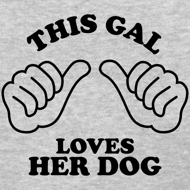 Two Thumbs Gal Dog