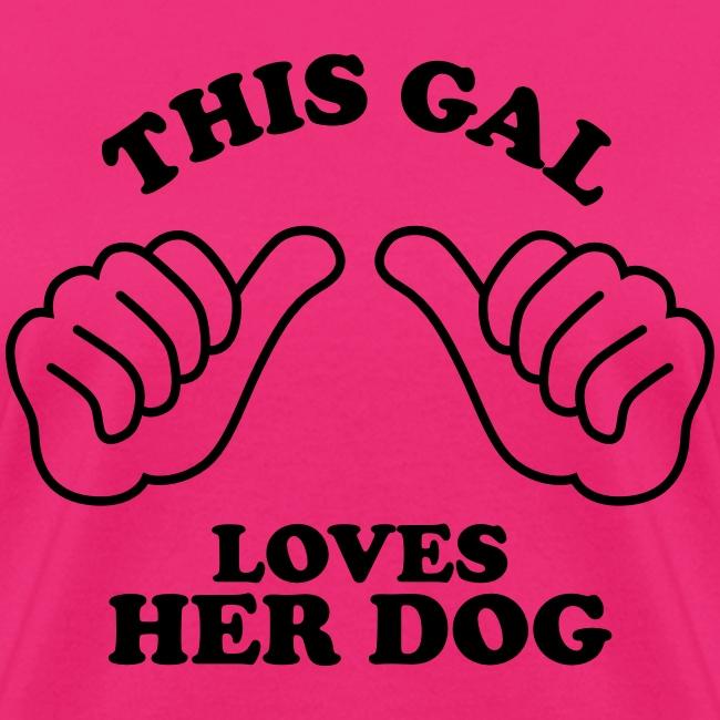 Two Thumbs Gal Dog
