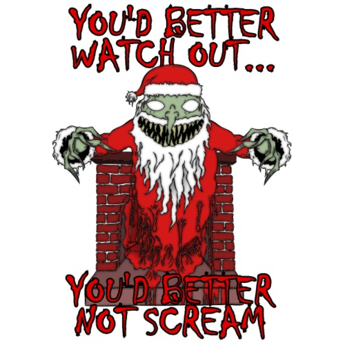 Scary Christmas - Women's T-Shirt