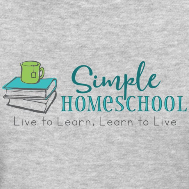 Simple Homeschool Logo with Motto