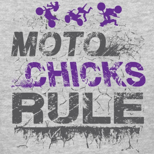 Moto Chicks Rule - Women's T-Shirt
