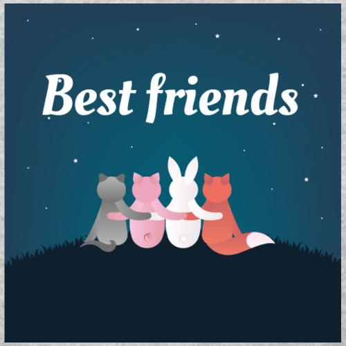 Animals Best Friends Shirts - Women's T-Shirt