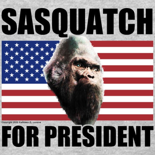 Vote for Sasquatch for President Shirts Gifts - Women's T-Shirt