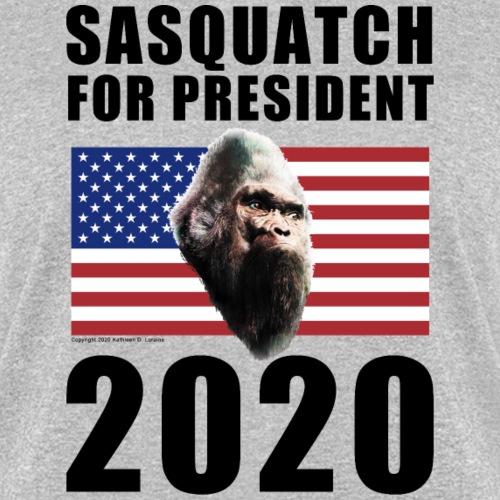 Sasquatch For President 2020 Election Shirts Gifts - Women's T-Shirt
