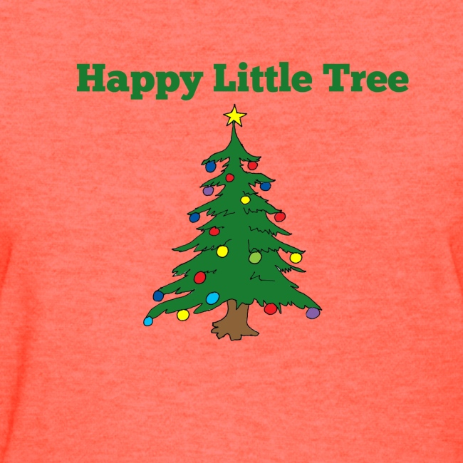 Christmas Tree HAPPY TREE TEE