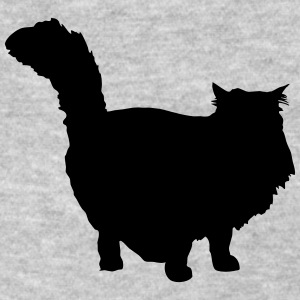 Vector Cat Silhouette - Women's T-Shirt