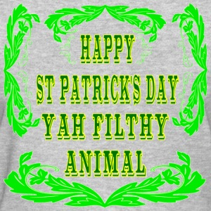 Happy St Patrick's Day Yah Animal - Women's T-Shirt