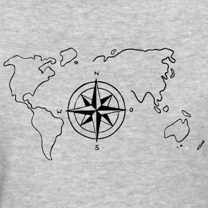world-map - Women's T-Shirt