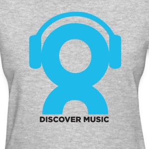 Discover Music Logo - Women's T-Shirt
