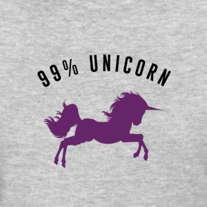 99% Unicorn - Women's T-Shirt