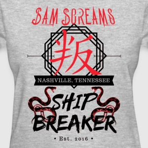 Sam Screams Ship Breaker - Women's T-Shirt