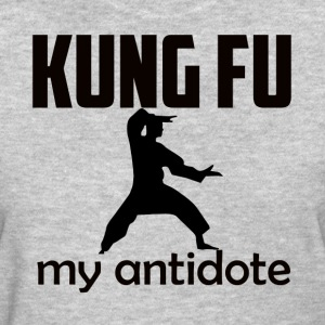 Kung_Fu design - Women's T-Shirt