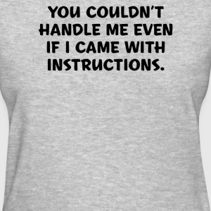 Instructions - Women's T-Shirt