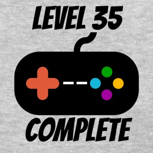 Level 35 Complete 35th Birthday - Women's T-Shirt