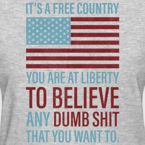 It's a Free Country - Women's T-Shirt