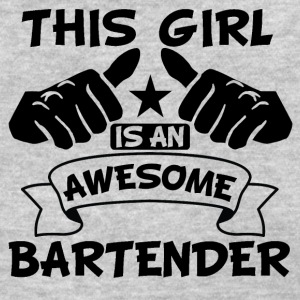 This Girl Is An Awesome Bartender - Women's T-Shirt