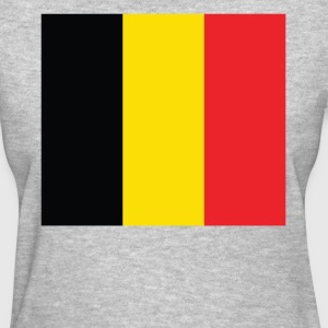 Flag of Belgium Cool Belgian Flag - Women's T-Shirt