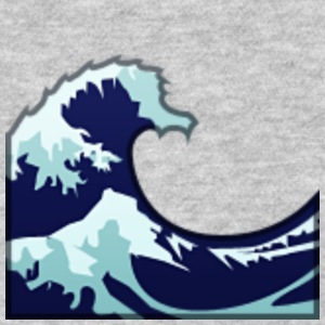 Wave Tsunami Logo - Women's T-Shirt