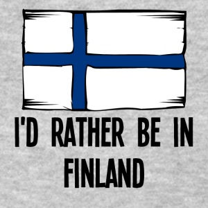 I'd Rather Be In Finland - Women's T-Shirt
