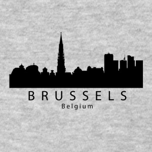 Brussels Belgium Skyline - Women's T-Shirt