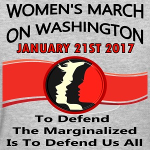 Women March On Washington 1-21-2017 - Women's T-Shirt