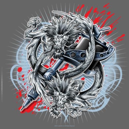 Dragon Tattoo by RollinLow - Women's T-Shirt