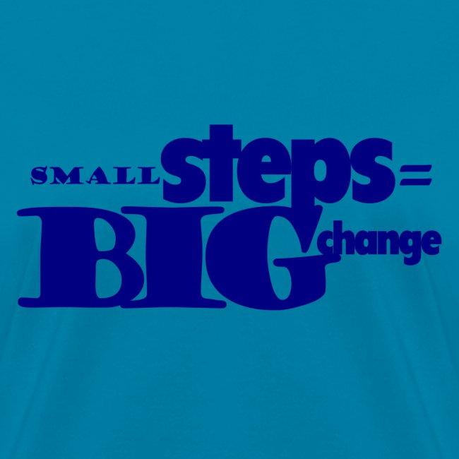 small steps blue