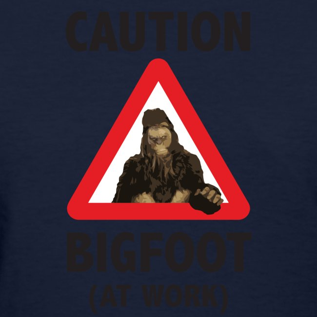Bigfoot At Work