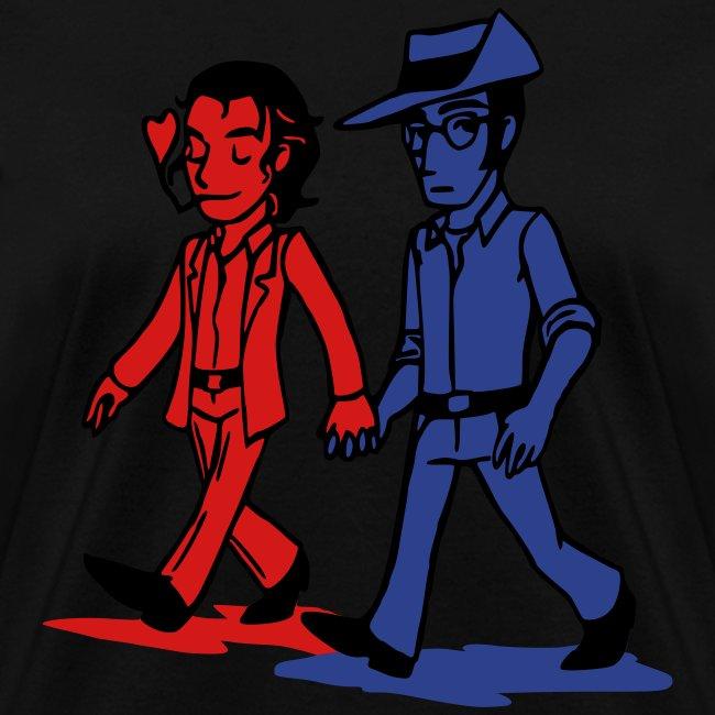 Deep heather Gabry and Liam Women's T-Shirts