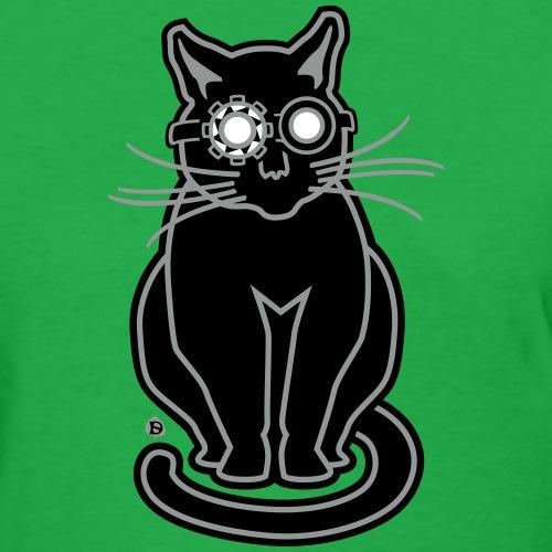 Ghost Hunting Gato - Women's T-Shirt