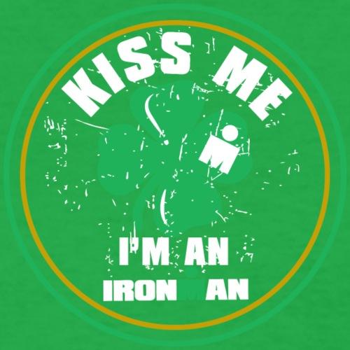 kiss me ironman - Women's T-Shirt