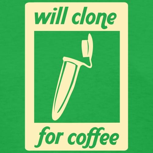vectorsilhouettewillcloneforcoffee02 - Women's T-Shirt