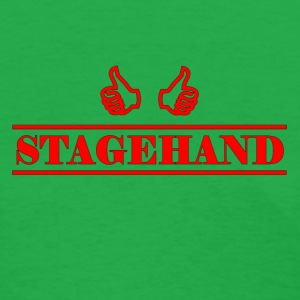 stagehand red - Women's T-Shirt
