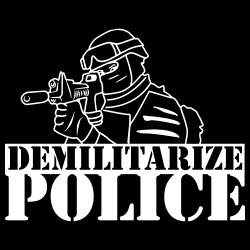 Demilitarize police