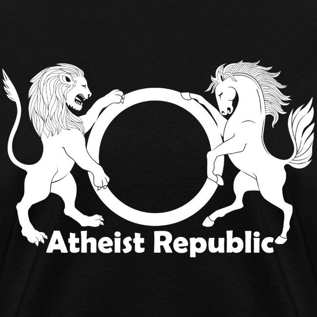 Atheist Republic Logo White Large