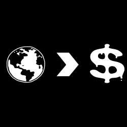 Our planet is more important than their profits