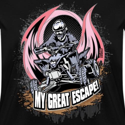 ATV Quad Great Escape - Women's T-Shirt