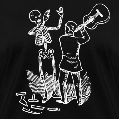 Dying For Bad Music White Print Unbranded - Women's T-Shirt