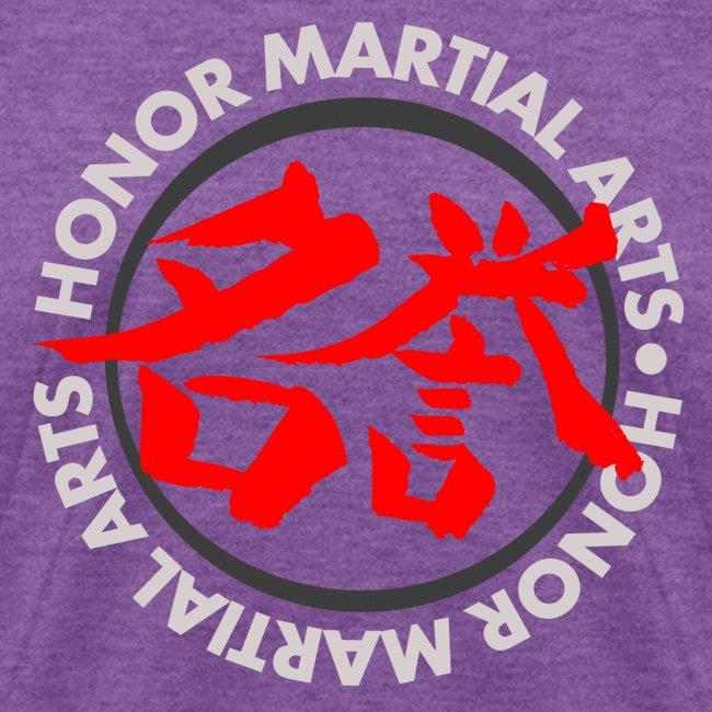 Honor Martial Arts Kanji Design Light Shirts
