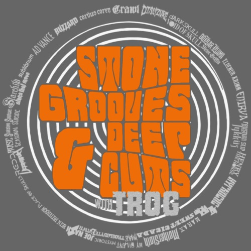 Stone Grooves Deep Cuts Spiral Logo T Shirt