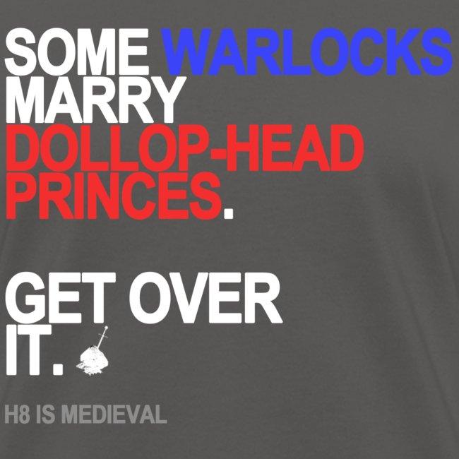some wizards marry princes black shirt