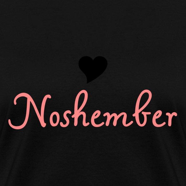 Noshember.com Heart Noshember